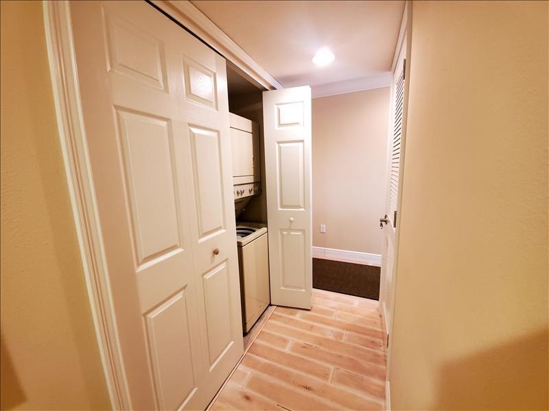 hallway with ac