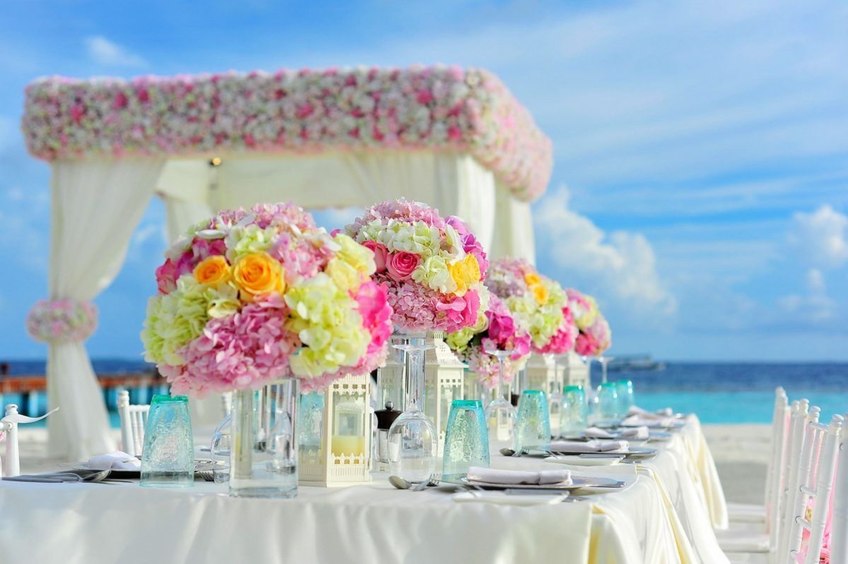decorations for beach wedding