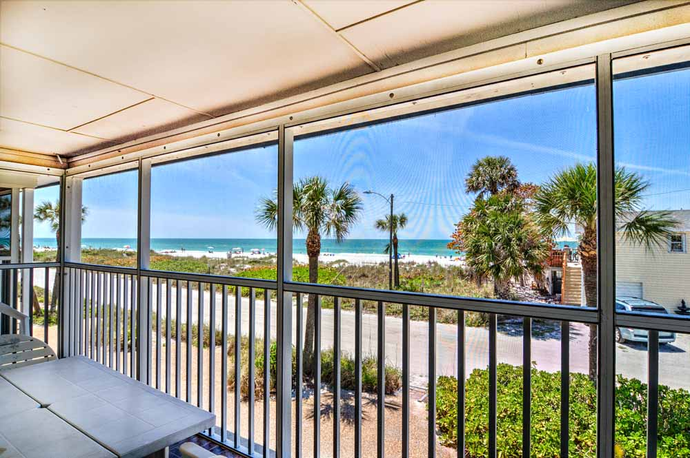 Gulf view from Anna Maria Island beachfront condo