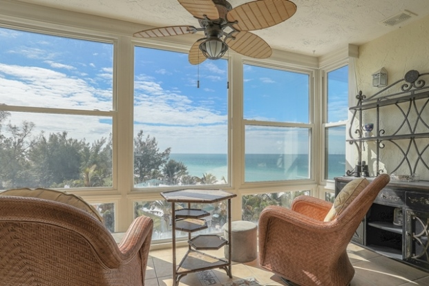 Gulf view from vacation rental in Anna Maria Island