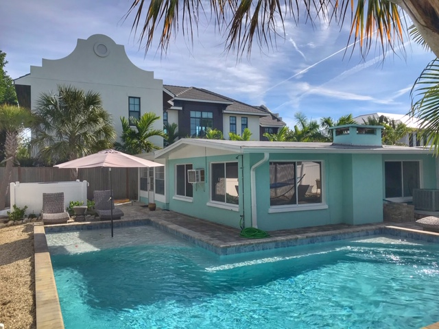 Holmes Beach vacation rental with a pool