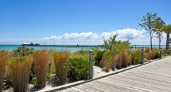 city of anna maria pier view from land