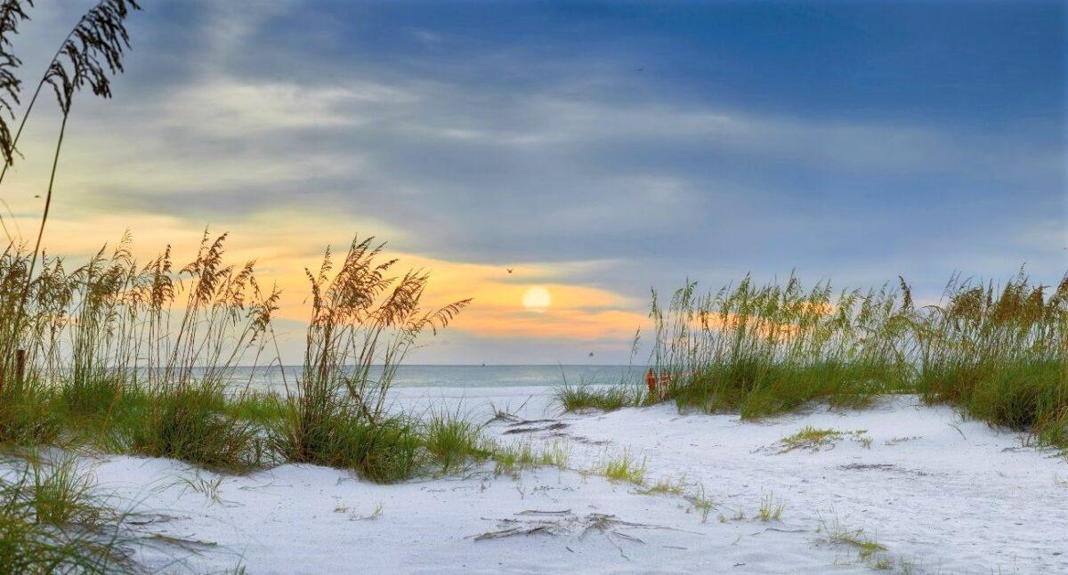 walk way on to beach