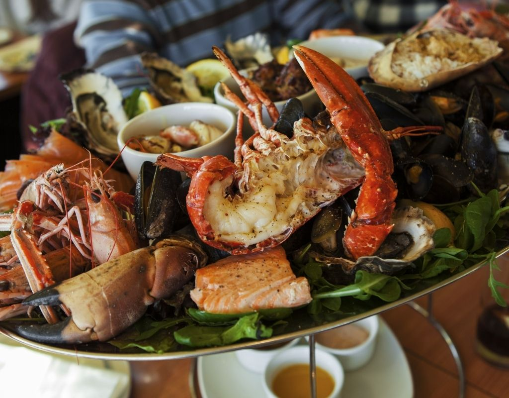 seafood dish in st pete